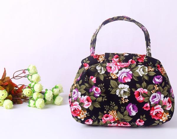 Womens bags can be sold directly to the manufacturers new canvas casual handbags womens bags instant bags buy vegetable bags put down the sun umbrella