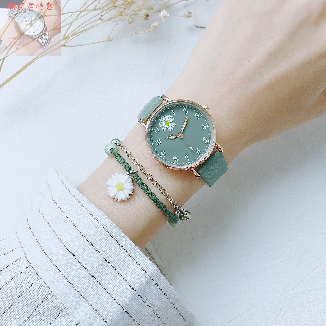 Antique watch Chinese style female students simple temperament