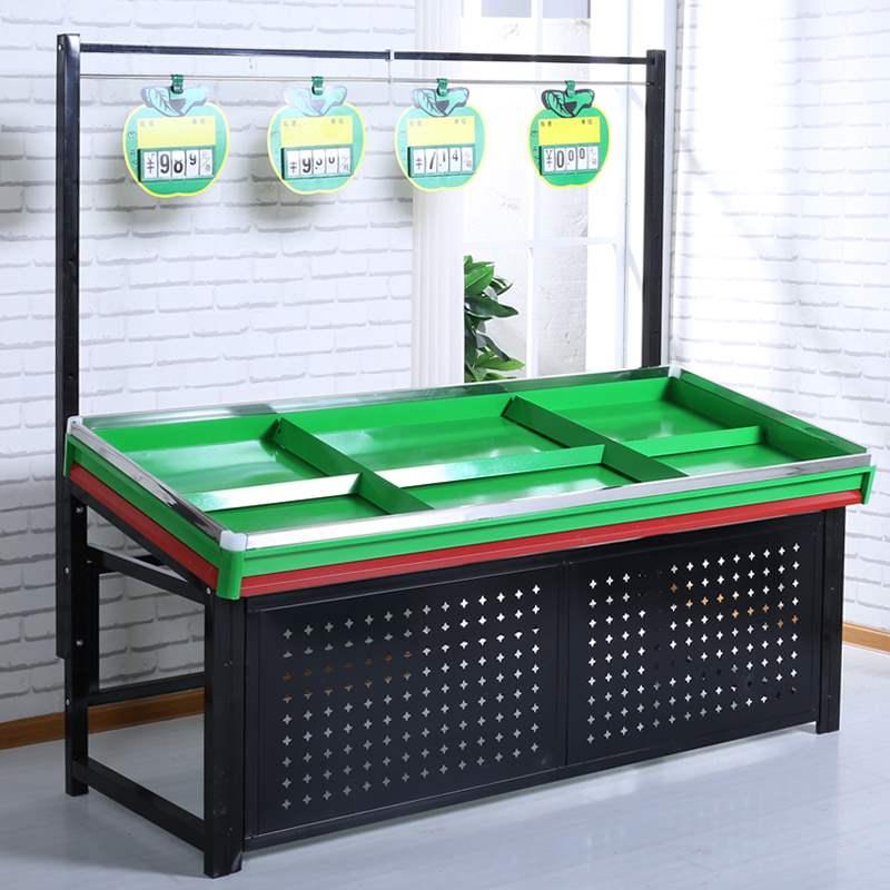 水果货架卖菜架子超市果蔬菜展示架蔬菜店专用定制水果店果蔬架