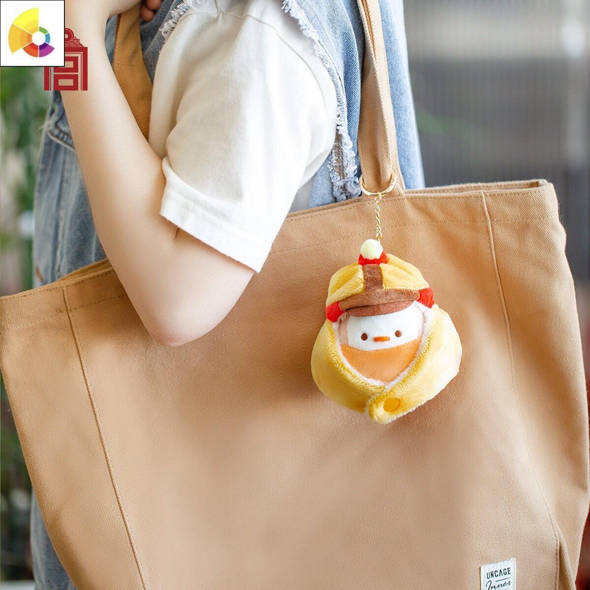 故宫必胜戴胜毛绒玩具挂件女生可爱公仔玩偶生日七夕礼物品配件