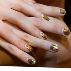 美甲彩妆用金箔碎 金色 银色 玫瑰金色 单色1袋20元