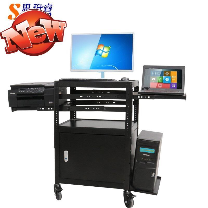 Siper x-ray-pb97-c computer TV mobile equipment bracket with lock cabinet equipment work shelf office car