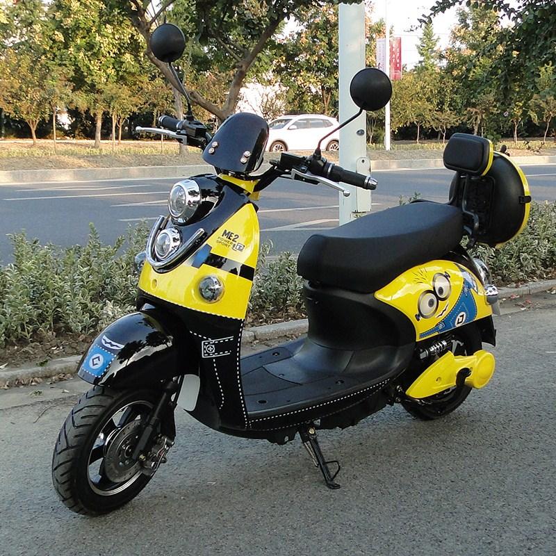 电动踏板车成人电瓶车代步车小型便携式二轮电动车电摩托踏板车热销0件买三送一