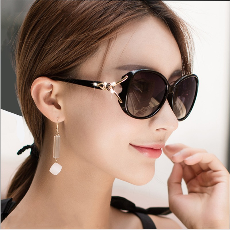 2020 new polarizing sunglasses round face lady sunglasses Fashion Driving g glasses Korean big face ins1b