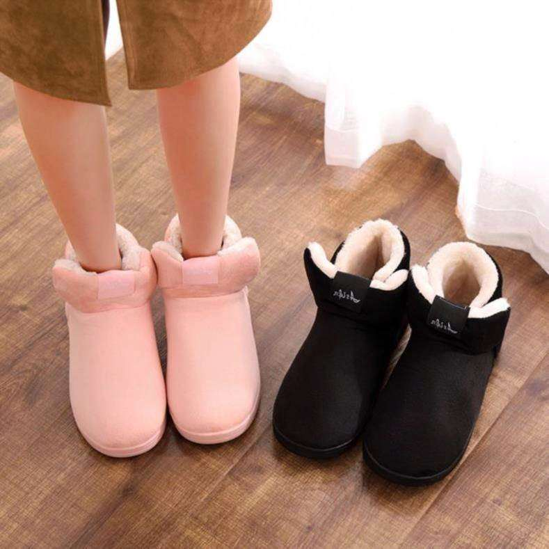 Princess shoes home plush cotton shoes womens winter slippers couples bring heels for winter light and heavy shoes for women men
