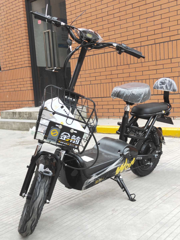 金箭新国标3C电动自行车48v成人电瓶车 杭州可上牌锂电池电动车(用190元券)