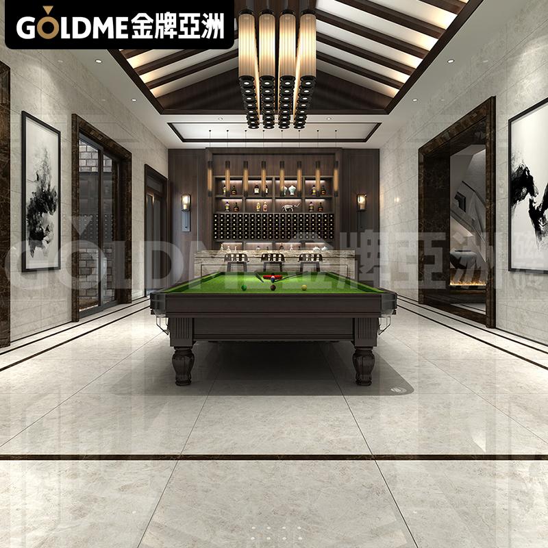 Gold medal Asian ceramic tile living room grey marble 900x900mm ceramic tile anti slip wear resistant wall and floor tile