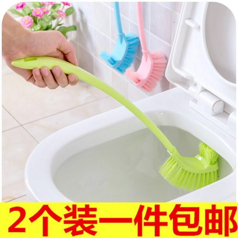 无软毛刷子马桶刷厕所套装长柄卫浴包邮家用清洁卫生间洁厕死角