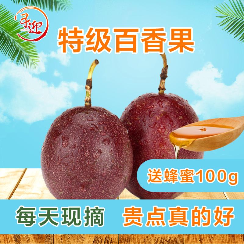 5斤包邮特级大果西番莲现摘百香果10月09日最新优惠