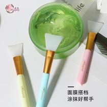 花漾硅胶面膜刷方便清洗均匀涂抹化妆美容工具DIY沧州自制面膜刷