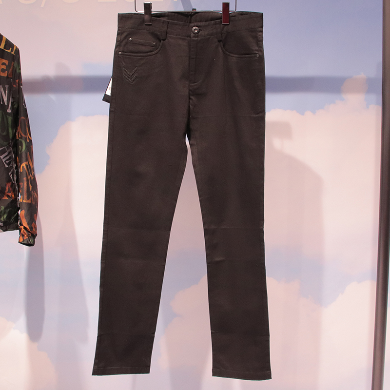 [exclusive for Shangge Hougong group] mens black jeans