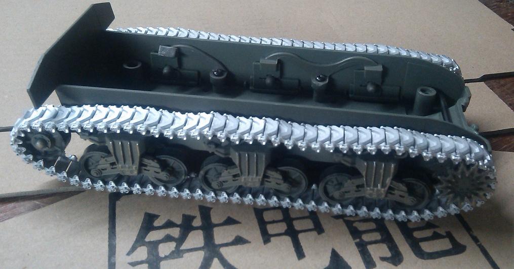 韩国 175b 谢尔曼m4(专配fov) 坦克模型 1:32金属履