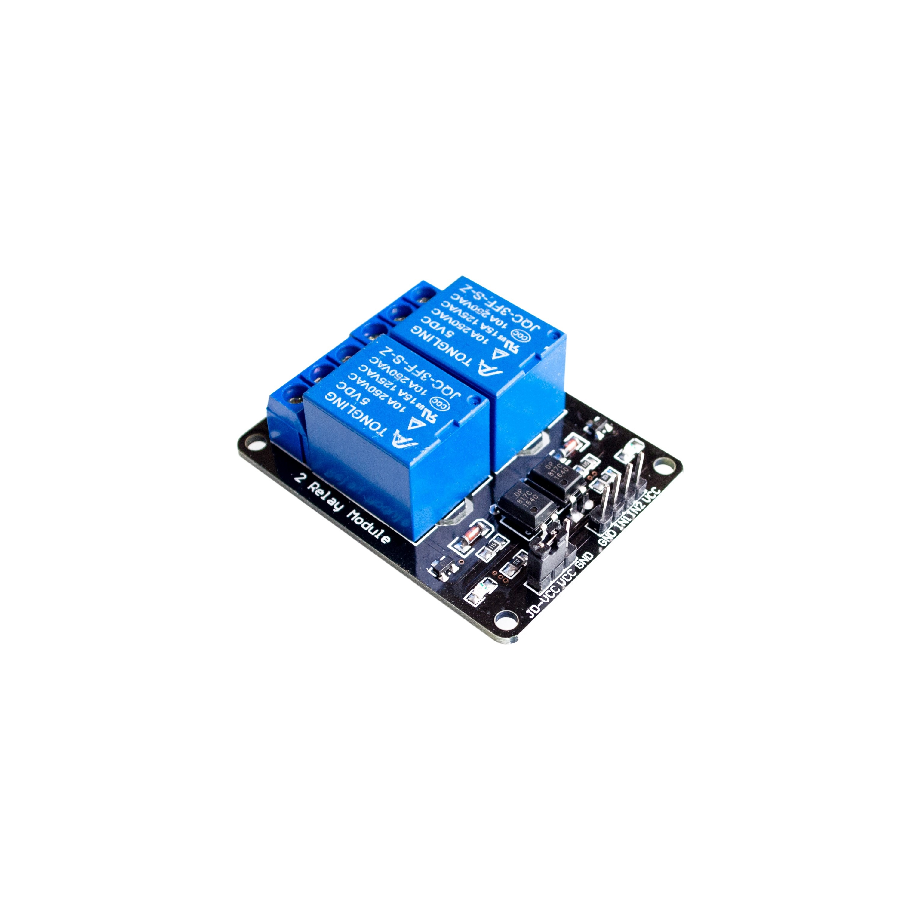 2 channel relay module relay expansion board for arduino 5V,可领取元淘宝优惠券