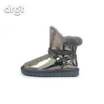 1211时尚冬短筒加绒短靴防水防滑棉鞋W266
