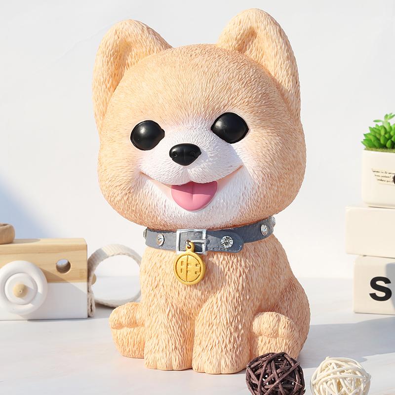 狗狗存钱罐个性网红大容量大号创意可爱生肖小狗储蓄罐儿童储钱罐