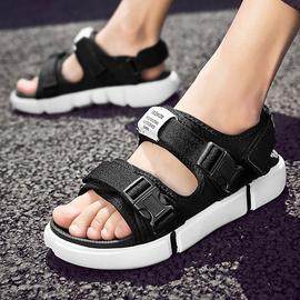 圈界越南凉拖鞋潮流男士凉鞋夏季室外拖鞋男时尚沙滩鞋外穿一字拖