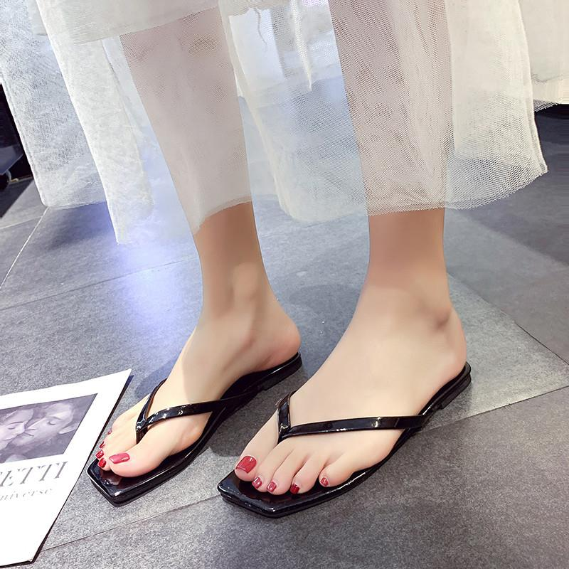 Go out with photos and shower personality Beach Womens slippers sandals family good beach shoes beach shoes room