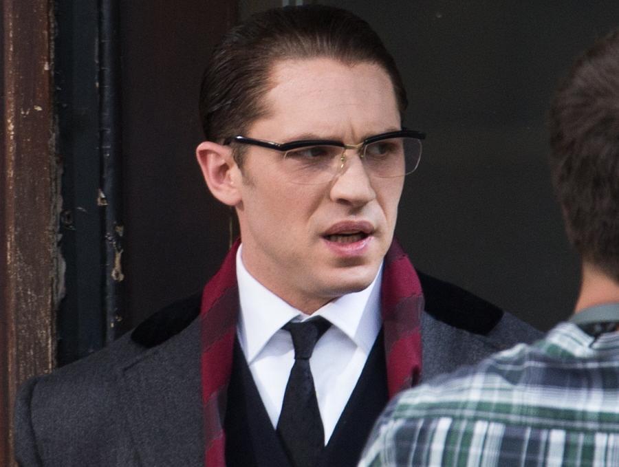 汤姆哈迪传奇暴徒镜框欧美大脸男士可配镜片变色防蓝光护目平光镜