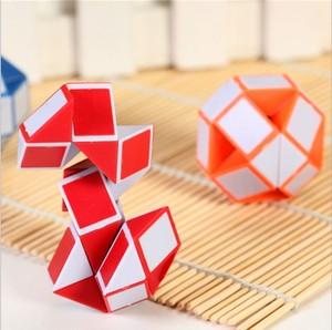 儿童早教趣味解压玩具 24段彩色百变魔尺 幼儿园益智区小男孩魔棍