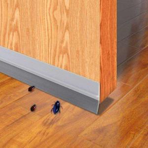 硅胶玻璃门防风条缝隙挡风防蟑螂橱柜门防尘条密封衣柜玻璃门上的