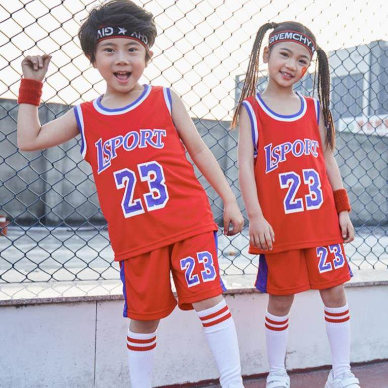 Childrens football suit kindergarten childrens football PANTS LEGGINGS clothes raw boys primary and secondary school retro summer team uniform 23