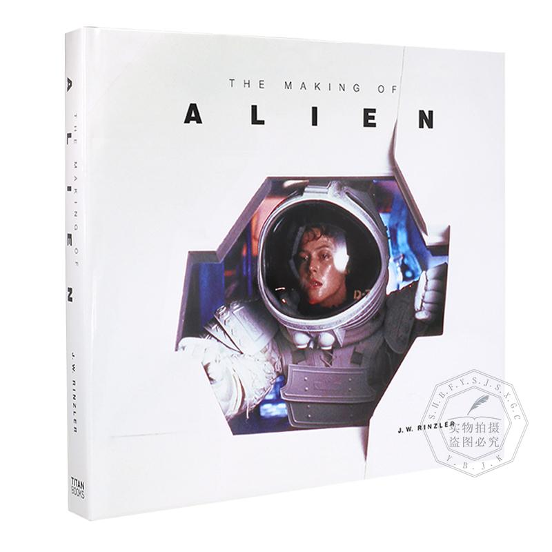 1979年异形 电影艺术画册设定集 英文原版 40周年纪念版 The Making of Alien 原画场景道具特效 雷德利斯科特执导 精装全彩大开本