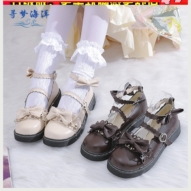 Lolita merulo Lolita shoes original JK shoes Lorita small shoes women Japanese soft girl baby shoes