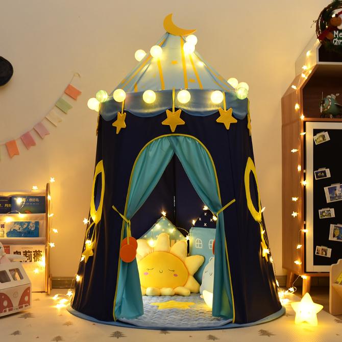 游戏屋室内家用女孩公主城堡小房子男孩宝宝蒙古包 玩具屋 儿童帐篷