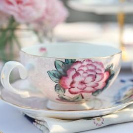 日本英式下午茶骨瓷欧式子母壶一壶一杯陶瓷复古单人茶壶咖啡壶图片