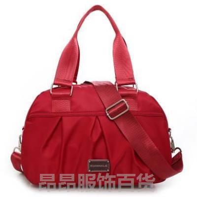 Womens bag Oxford cloth shoulder bag Korean version medium-sized large capacity leisure fashion portable messenger wash cloth bag new womens bag