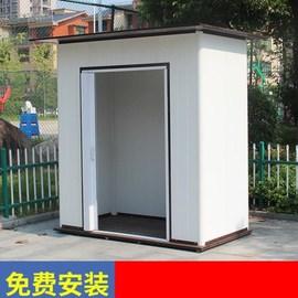 户外储物房 花园工具房别墅防雨水简易庭院房屋活动室外杂物间
