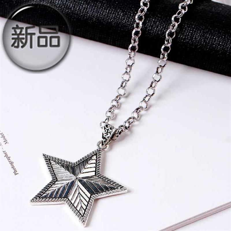 Fashion mens fashion clothes chest chain accessories summer versatile 77 mens personality leisure fashion neck chain womens long necklaces