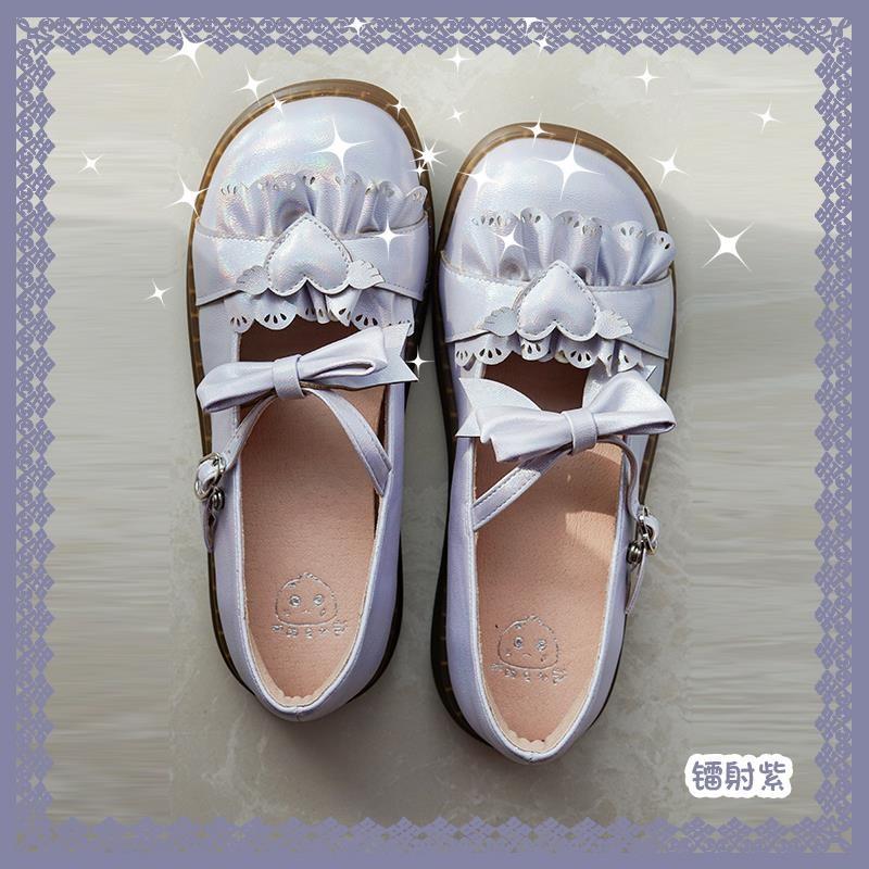 【截?收藏】甜豆包斑的小豆包オリジナルlolita靴可愛いlolita、