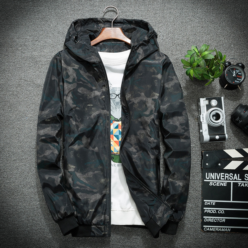 Summer Wind Jacket Camo Jacket Windbreakers Lightweight