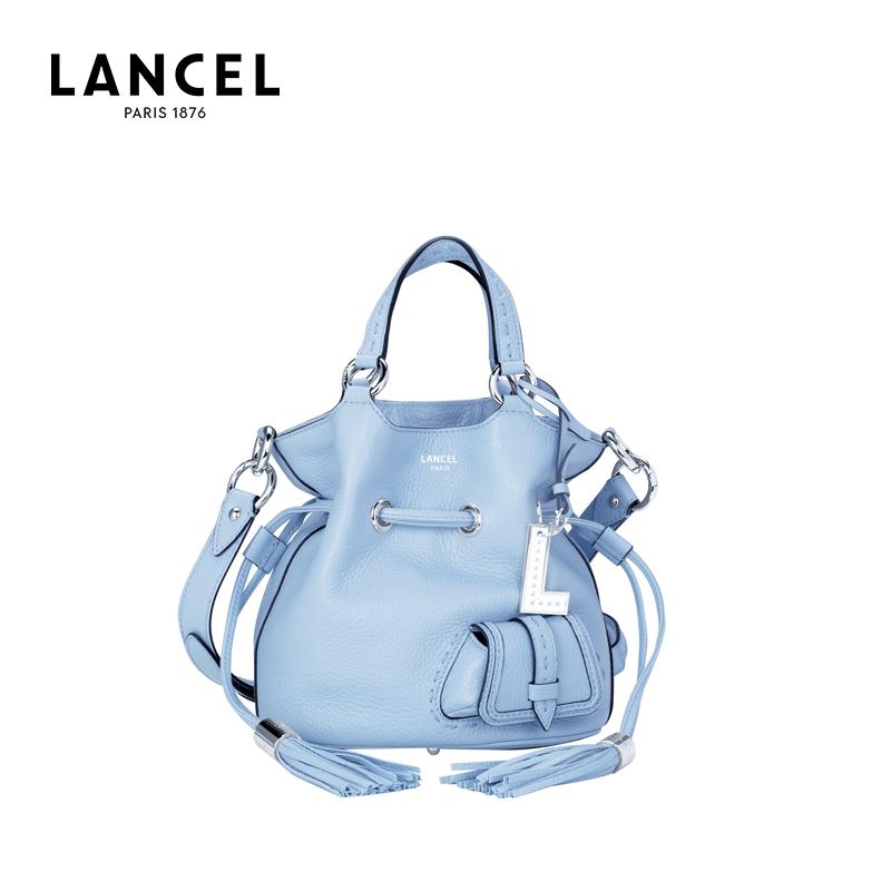 Lancel/兰姿PREMIER FLIRT女士水桶包经典法国小众单肩手提包中号