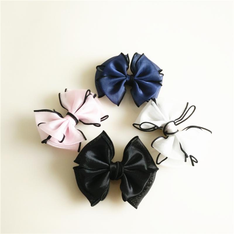 鞋夹蝴蝶结鞋上的装饰品小花儿童鞋子配件diy鞋花高档鞋饰百搭。