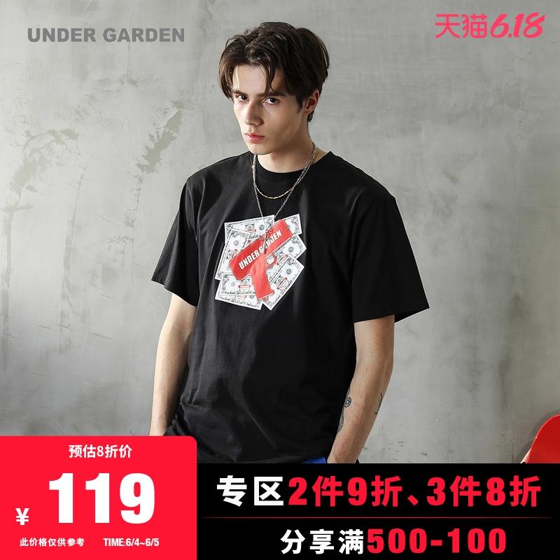 UNDER GARDEN男装短袖T恤2020春季新品潮流趣味印花1103MAE