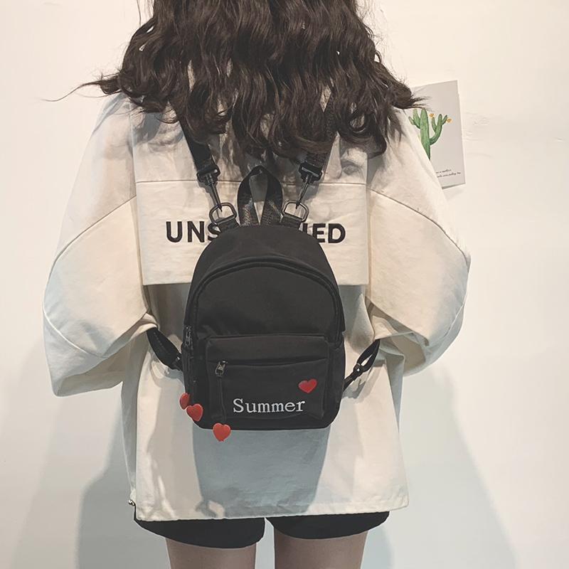 韩版上新ins超火双肩包包女2020新款时尚百搭少女迷你旅行小背包