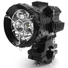 Motorcycle spotlight, led headlamp, open-channel flash, exterior modification assembly, hooligan lamp 12V