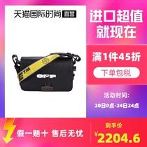 【直营】OFF-WHITE单肩斜挎包OWNA038R21LEA女士包包袋送女友礼物