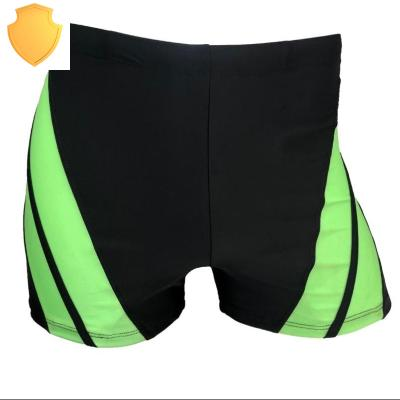 Swimsuits men's five point flat angle quick drying men's swimsuits hot spring swimming is not to rely on swimsuits to prevent embarrassing tide men.