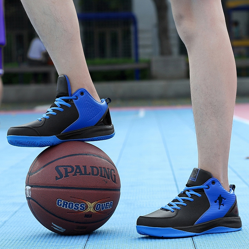 Authentic Yian stepping on snow, breathable outdoor sports wear-resistant basketball shoes, mens high top boots, all star basketball