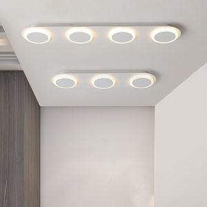 吸顶灯led吸顶灯无级分段调光变色灯亚克力吸顶灯客厅异形亚克力