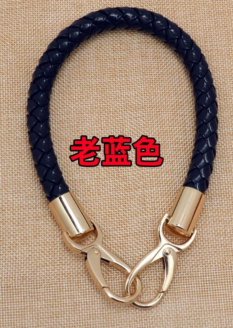 Ho handbag J bag belt carrying bag handbag carrying belt versatile hand carrying multicolor leather short x chain belt m leather rope