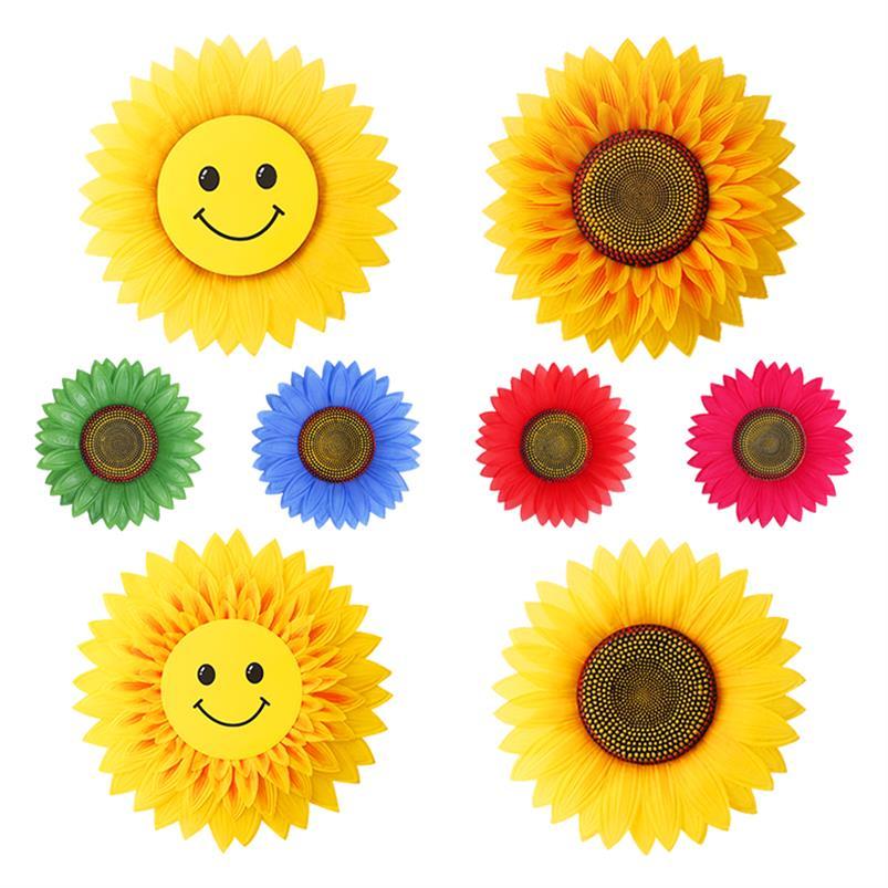 用向日葵花儿童节儿童太阳花入场式向日葵道具演出手花手持开场舞