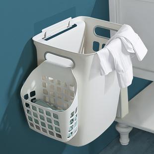 脏衣篮子洗衣篓换洗衣桶家用卫生间浴室塑料防水壁挂式衣服收纳筐