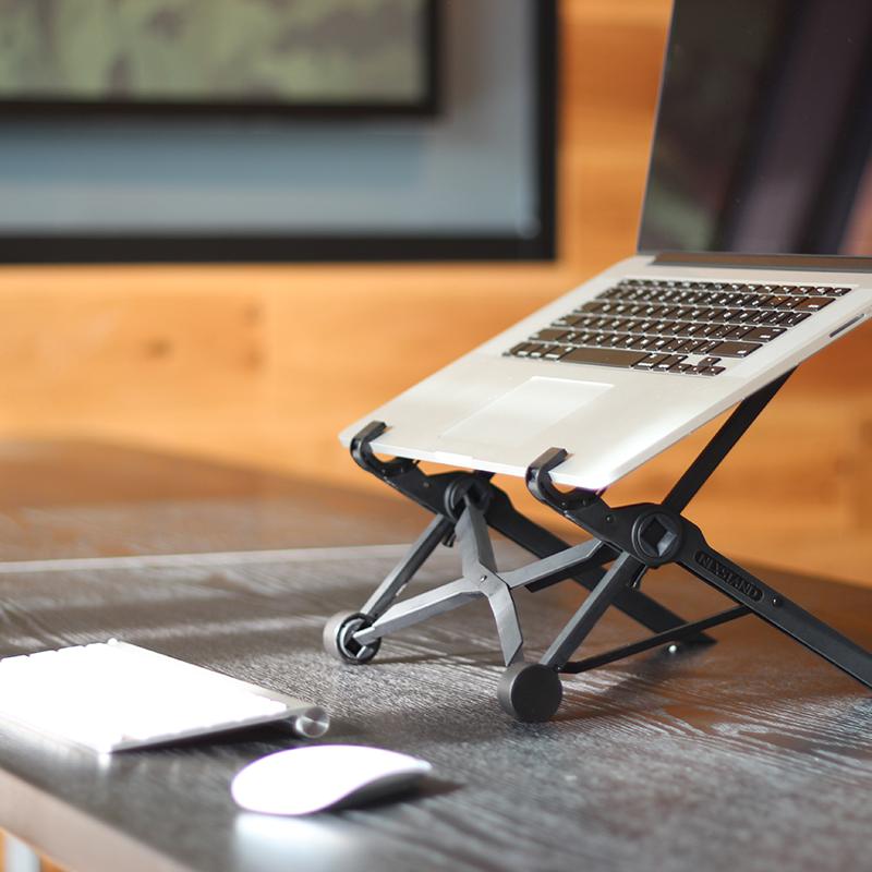 笔记本支架折叠便携升降手提笔记本电脑支架保护颈椎NEXSTAND增高垫桌面电脑架散热托架底座苹果电脑支架MAC图片