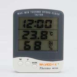 温湿度计家用室内外仓库检测仪工厂挂立高精准电子干湿温度表