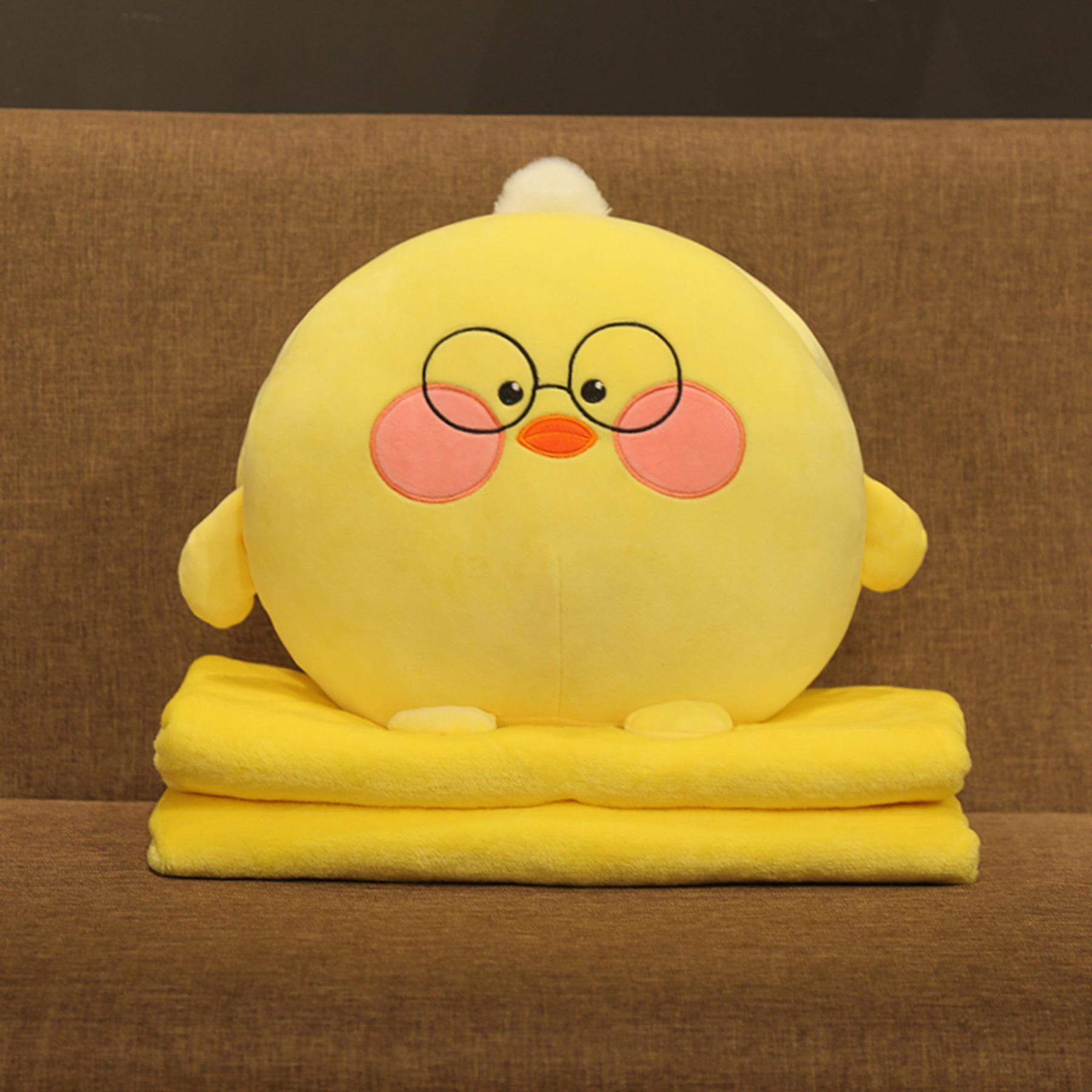 12月01日最新优惠可爱办公室空调抱枕被汽车抱枕被子