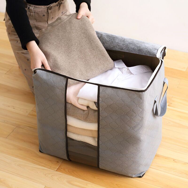 Storage bag finishing bag clothes quilt moving luggage packing oversized clothes moisture-proof storage bag for quilt